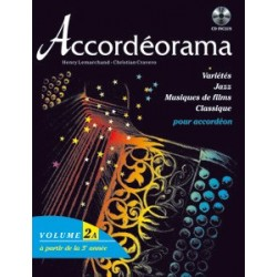 Accordéorama Vol1 + CD  ou Vol2 + CD