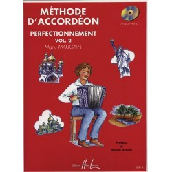 Méthode d'accordéon perfectionnement Vol2