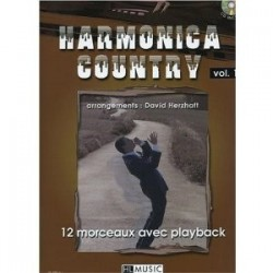 Harmonica Country  Vol1 + CD