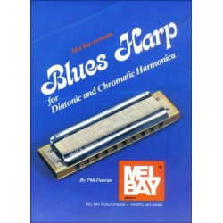 Blue Harp for diatonic and chromatic harmonica