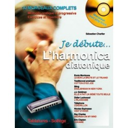 Je débute l'harmonica diatonique + CD